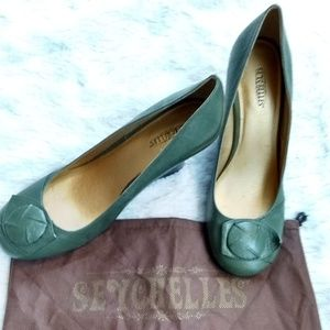 New! Seychelles Wedge Shoes